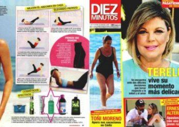 Liporeductor Oil in Diez Minutos magazine