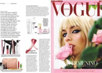 Beauty Cream Oncology in VOGUE Magazine