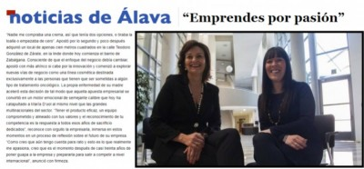 «You undertake out of passion» News from Álava