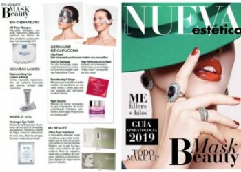 Hydrogel Eye Patch in the New Aesthetic Magazine