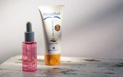 free hyaluronic acid and sunscreen