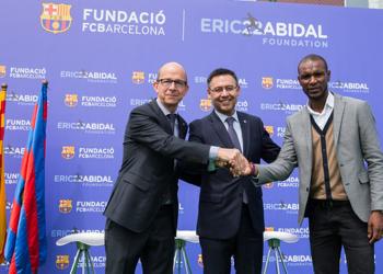 Éric Abidal against childhood cancer