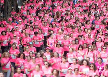 Pink tide against cancer